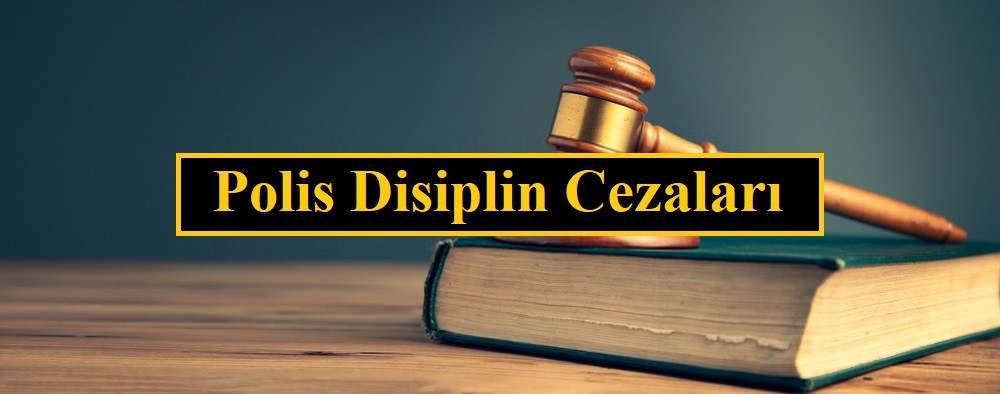 polis disiplin suclari
