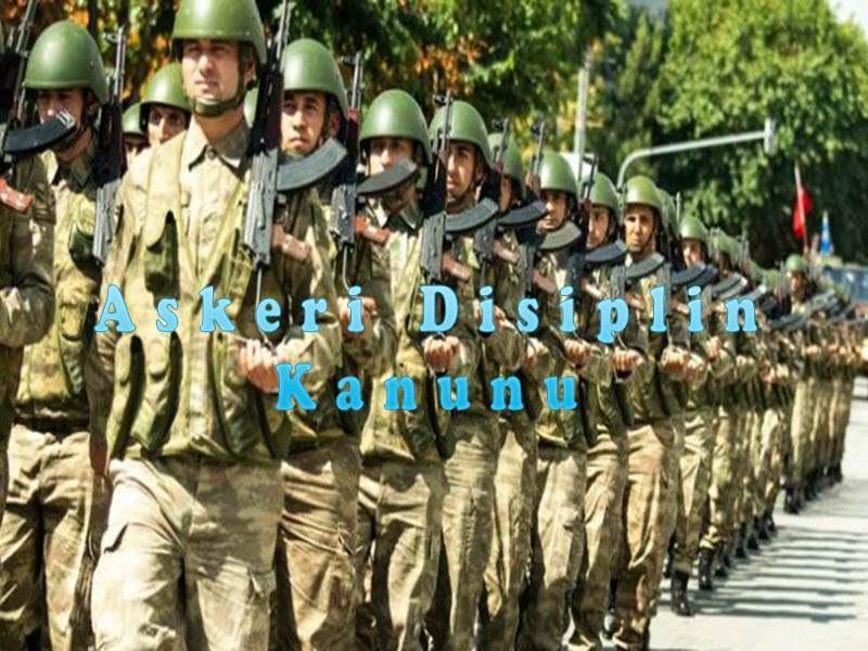 Askeri Disiplin Kanunu