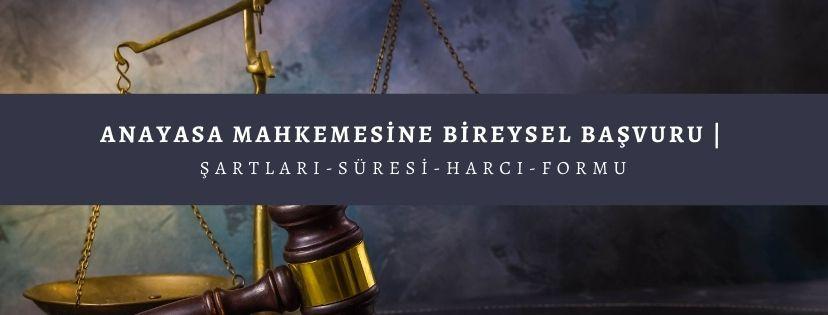 anayasa mahkemesine bireysel basvuru nedir